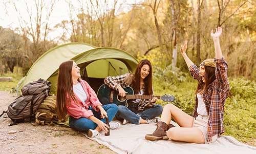 Ir de camping por primera vez. Qué me llevo