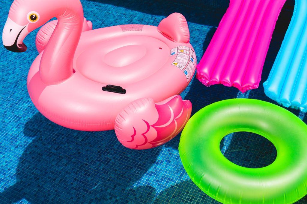 flotadores verano donde guardarlos